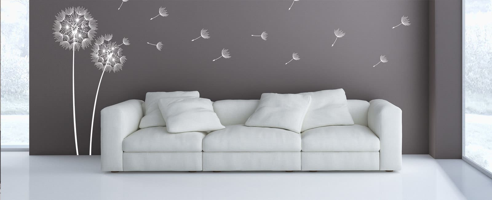 wandtattoos von designscape wandtattoo markenqualit t. Black Bedroom Furniture Sets. Home Design Ideas