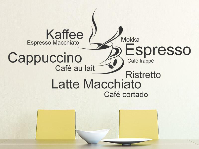 Wandtattoo Küche Kaffee
