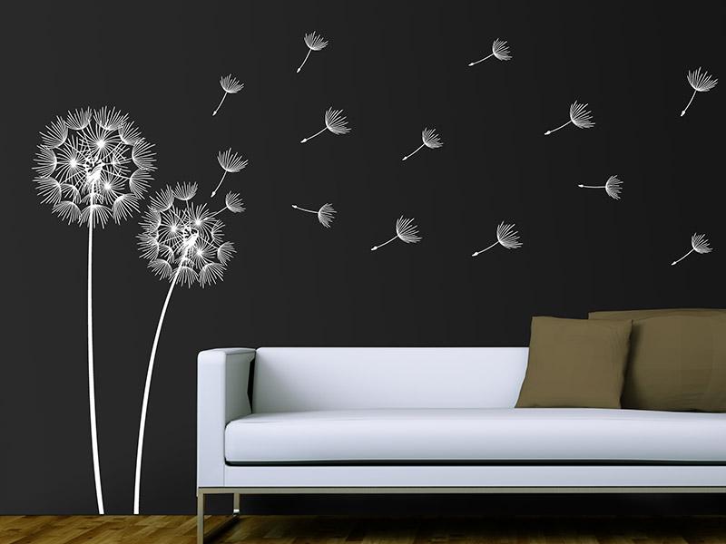 wandtattoos von designscape wandtattoo beispiele. Black Bedroom Furniture Sets. Home Design Ideas