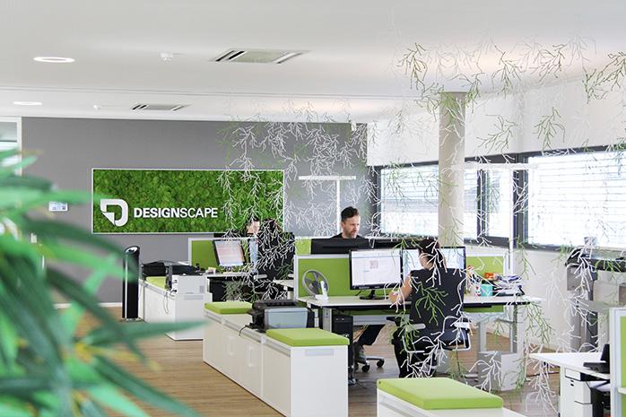 Bürobereich von Designscape