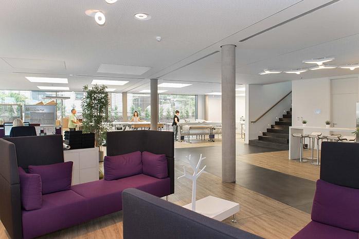 Eingangsbereich bei Designscape
