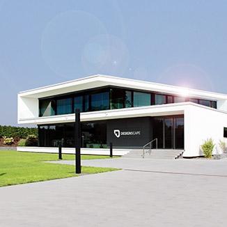 Firmengebäude von Designscape