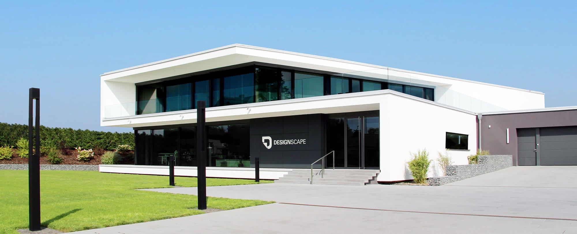 Firmengebäude von Designscape - Modernes Bürogebäude